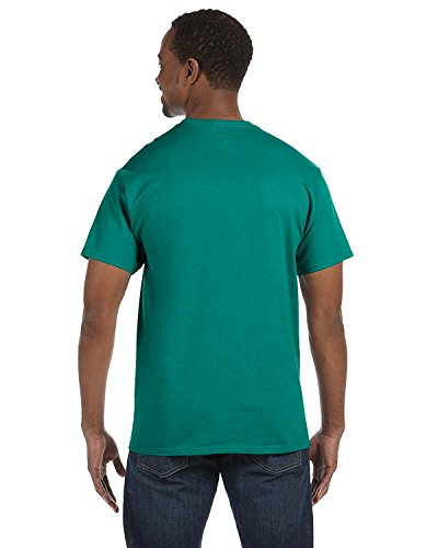 Jade Heavyweight T-shirt - Jerzees 5.6 oz., 50/50 Heavyweight Blend T-Shirt, XL, JADE