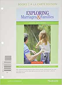 Amazon com: Exploring Marriages and Families Books a la
