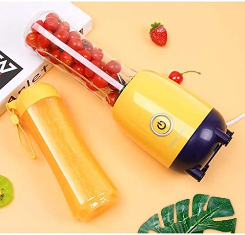 ECSWP Mélangeur portatif, mini-mélangeur personnel de tasse de presse-fruits de Smoothie, recharge de USB, détachable, for le bureau/sport/voyage