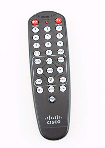 Time Warner Cisco HDA-RF2.2 Digital Transport Adapter (DTA) Remote Control ()