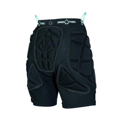 PROTEC Original Pro-tec Women's Hip Pad Snow Helmet, Black/Baby Blue, X-Small ()