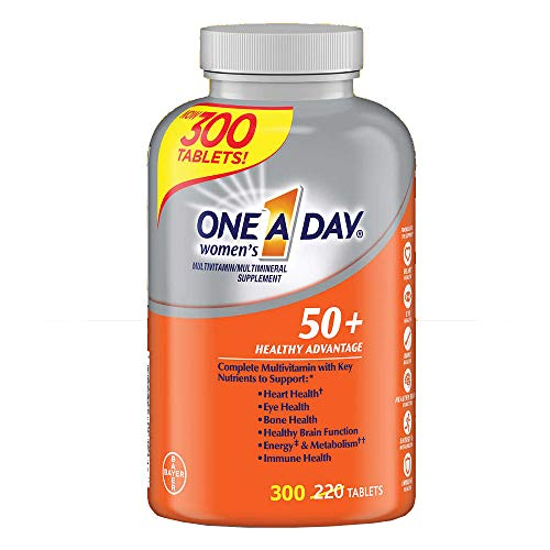 One A Day Women s 50 Advantage Multivitamins, New Larger Size of 220 Count