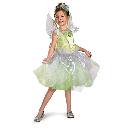Disguise Girl's Disney Tinkerbell Tutu Prestige Costume, -