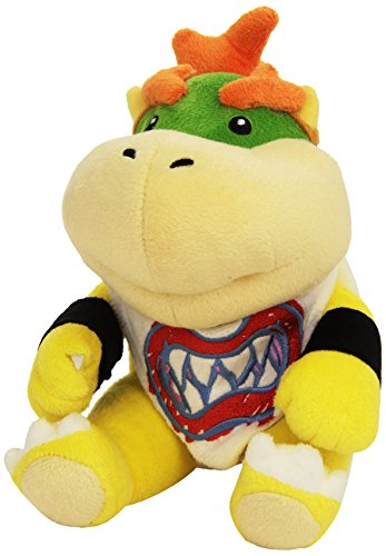 Nintendo 19cm Super Mario Bros Plush San Ei Bowser Jr