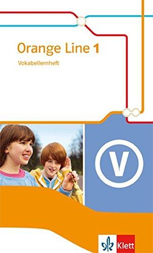 Orange Line 1: Vokabellernheft Klasse 5 (Orange Line. Ausgabe ab 2014) Taschenbuch – 1. Oktober 2014 Frank Haß Klett 3125480914 Schulbücher