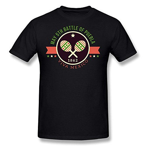 LDMH Men's Cinco De Mayo T Shirt Black