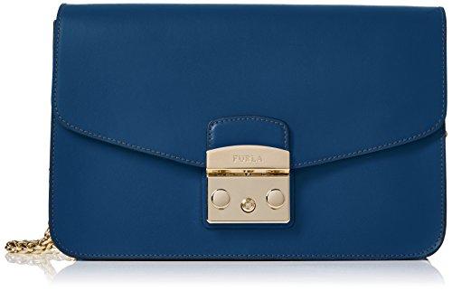 Furla Metropolis S, sac bandoulière Bleu (Blu Pavone D)