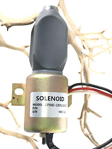 THUNDER PARTS Fuel Shut Off Solenoid 1756ES-12E3ULB1S5 ; Woodward Solenoid Replacement Series 1750-1 Year Warranty - Ships from USA -  Power Master, 1751-12A6U1B1S5