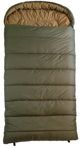 TETON Sports Celsius XL -32 Degree C / -25 Degree F Flannel Lined Sleeping Bag (90″x 36″, Green, Right Zip), Outdoor Stuffs