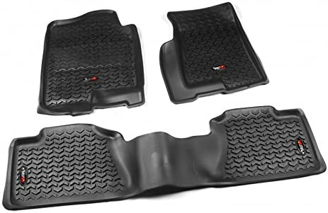 Rugged Ridge 82989.02 1st and 2nd Row All Terrain Floor Liner Kit