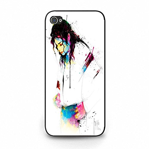 Customized Michael Jackson Phone hülle Handyhülle Cover for Iphone 5C MJ Cover,Telefonkasten SchutzHülle
