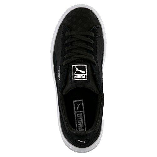 black Sneakers Femme Noir black Puma Basses Platform Basket De 8T4qaw