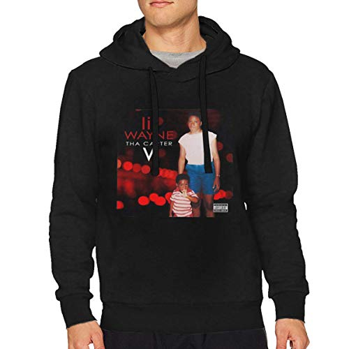 Sbbiegen886wo Men Lil Bruce Wayne THA Carter V Vintage Hooded Sweatshirt M