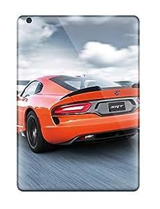 New Tpu Hard Case Premium Ipad Air Skin Case Cover(dodge Viper 7)