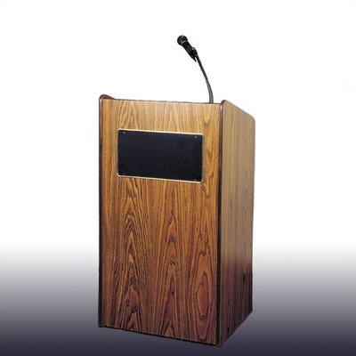 Oklahoma Sound 6010-CH Aristocrat Floor Sound Lectern, 25