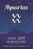 Aquarius - Your 2019 Horoscopes: 52 Week Zodiac Goal Planner 2019