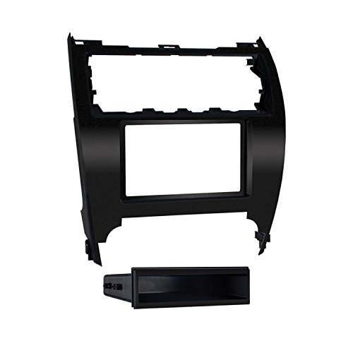 - Metra 99-8232B 2012-Up Toyota Camry ISO Single/Double DIN Dash Installation Kit