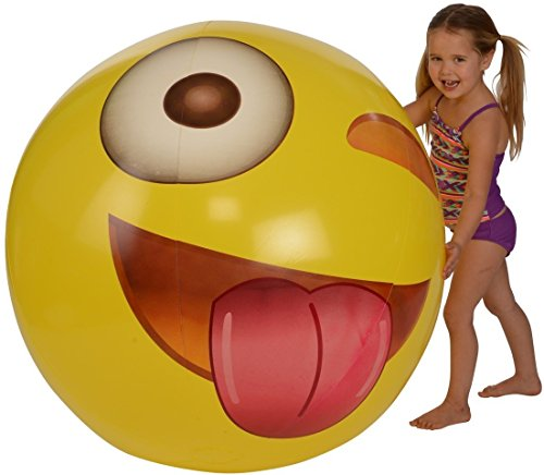 Emoji Universe Wink Beach Ball