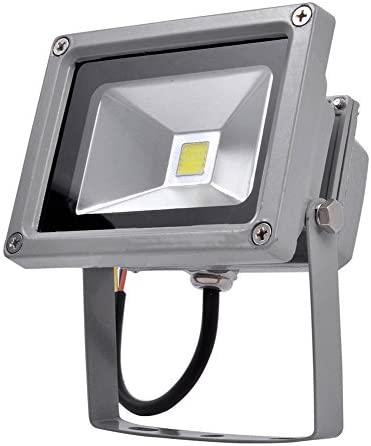【Rondaful】5x 10W LED Strahler Außenstrahler Scheinwerfer KALTWEIß/kaltweiss Fluter Flutlichtstrahler 800-900Lm Flutlicht kaltlicht wasserdicht IP65 Leuchtmittel 85~265V