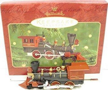Hallmark QX6684 Lionel General Steam Locomotive Lionel Trains 5th Keepsake Ornament 2000