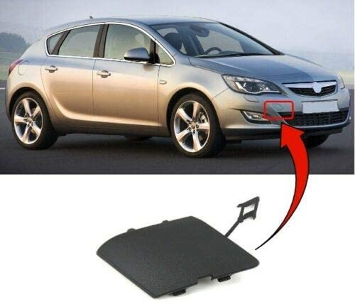 Trade Vehicle Parts OP4031 Front Bumper Moulding Towing Eye Cover Compatible With Astra J 2012-2015