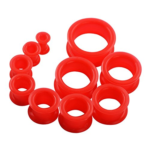 red 2g plugs - 3
