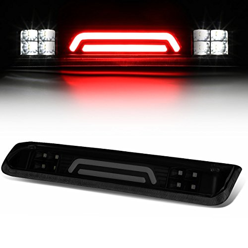 For Ford Explorer Sport Trac/F-150 3D LED Light Bar Third Tail Brake Lamps (Black Housing/Smoked Lens) 4th