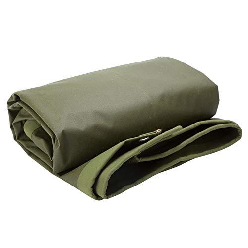 あざ化石積極的にKKCF オーニング耐寒性防塵の厚い耐寒性耐摩耗性老化防止屋外トラックキャンバス 、650 / M2 、12サイズ (色 : アーミーグリーン, サイズ さいず : 2.8x5.8m)