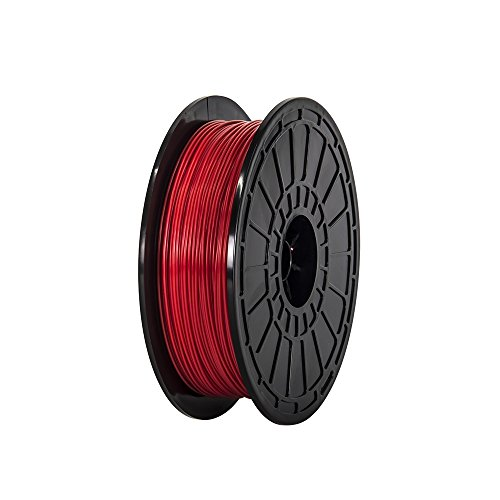 175mm-ABS-Red-3d-Printer-Filament-NW06-kg-Per-Spool-for-FlashForge-Dreamer-3d-Printer