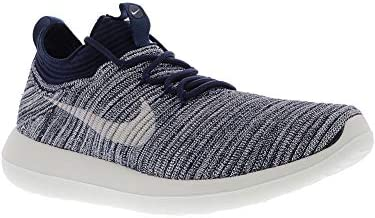 5442c14fdc88c Nike Women s Roshe Two Flyknit V2 College Navy Sail Ankle-High Running Shoe  - 8.5M