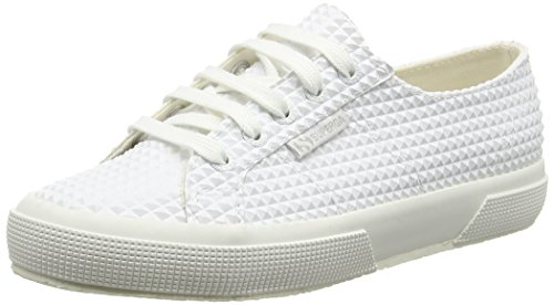 Superga 2750 Rbrpyramidu, Baskets Basses Mixte Adulte Blanc - White (900 White)