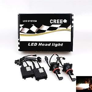 DK Universal Car / Truck H8 2800LM 50W Cree LED HeadLight Headlamp White 6000K