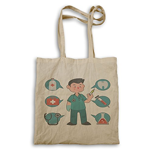 Smiley Doctor Happy Tote Funny Funny Happy o622r bag Doctor TXa411