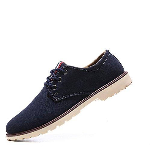 約束する楽観病気のCAIXINGYI冬のメンズコットンシューズとカシミアの温かい工具シューズ厚い潮の青少年大きな頭の靴厚い床の靴スエードの靴