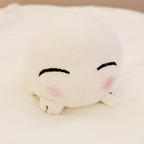 Funif Cute Shu Velveteen Decorative Throw Pillow for Home Office Sofa Stuffed Animal Toys Back Cushion Creative Doll for Kids Fukigen Na Mononokean 7.1