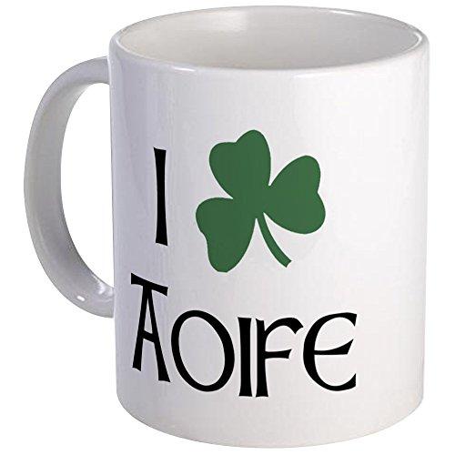 CafePress - Shamrock Aoife Mug - Unique Coffee Mug, Coffee Cup