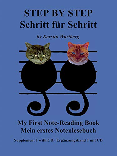 My First Note Reading Book: Book & CD (German and English Edition)