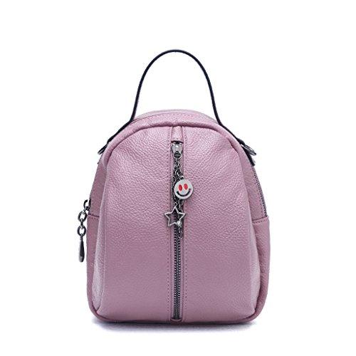 JIUTE Mochila La Sra. Korean PU Leather Mini Shoulder Bag (Color : B) C