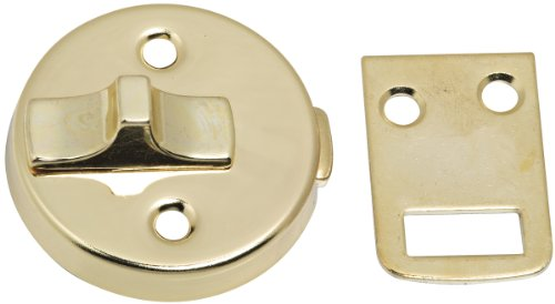 Stanley Hardware S763-610 CD76-3610 Decorative Surface Bolt in Bright Brass