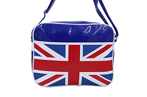 Great pb55 Bag Blue Union Jack Britain Postman Flag r0ZwrF