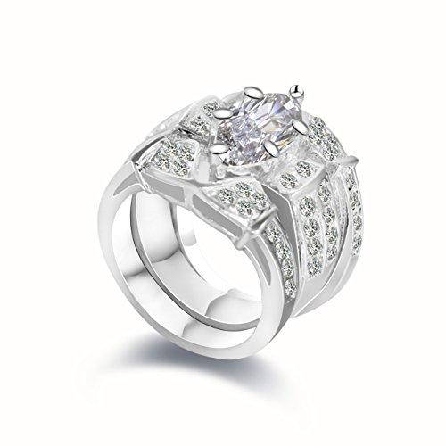 Diamond 2 Piece Bridal Ring - 8