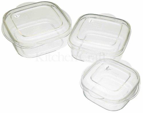 Microwave Casserole 3 Piece Set