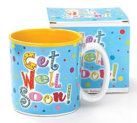Get Well Soon Coffee Mug/Cup Gift Boxed