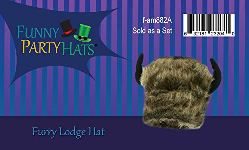 2fdb0107 Buffalo Bison Hat - Costume Animal Hats - Adult Costume Hats ...