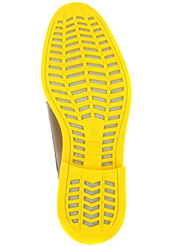 FRETZ men Zapatos derby Locarno Gore-Tex® SurroundTM Marrón Claro / Amarillo EU 47 1/3 (UK 12)