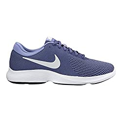 Nike Womens Wmns Nike Revolution 4 Blue Pure Platinum Purple Size 6