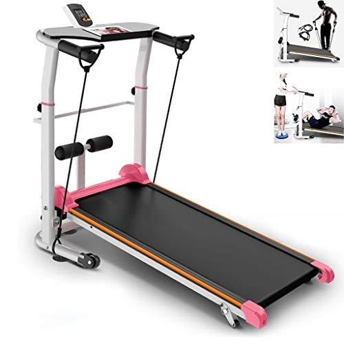Treadmills Mechanisch Met Leuningen Thuis Wandelmachine Indoor Sportapparatuur Fitnessapparatuur Opvouwbare…