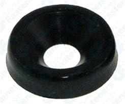 50 #8 Nylon Finishing Washer - Black