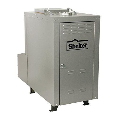 Shelter SF4200 Outdoor Wood Burning Add-on Furnace (Heats up to 4,000 Sq.Ft.) by Shelter