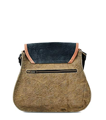 Purse Leather Work Crossbody Vintage Shoulder handbag by Trendy Design Messenger Daphne Hobo Travel Trims Sling Canvas wqBfROB